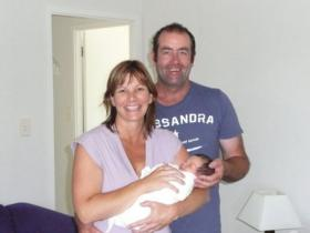 lisa bell  murray hume with zoe bell born 8 jan 11